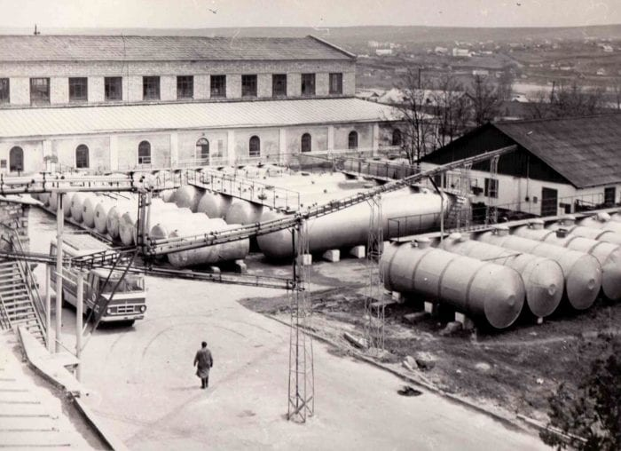 Production facilities 1950s_The history of Moldovan winemaking