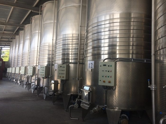 Modern production area_The history of Moldovan winemaking