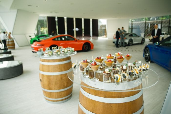 Canapes at corporate event_Corporate Events Venue With Hotel