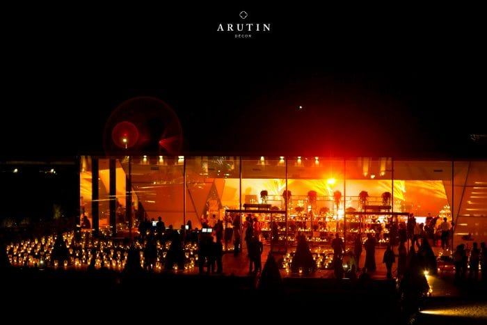 Pavilion at night_Party Venue Hire